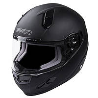 Мотошлем интеграл ISPIDO RACE BLACK/FROSTED M