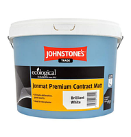 Jonmat Premium Contract Matt 10л глубокоматовая краска для стен и потолков