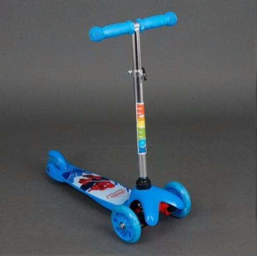 Самокат детский трехколесный Mini 779-15 Человек Паук ***