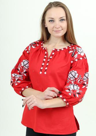 """Блуза - вышиванка """"Нежность"""", фото 2"""
