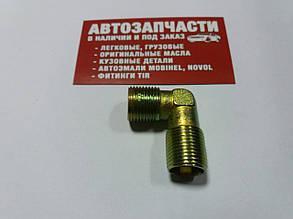 Угольник резьбовой М18х1.5 (конус под гайку пластиковой трубки)