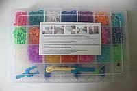 Набор для плетения браслетов из 4200 резиночек Loom Bands, фото 1