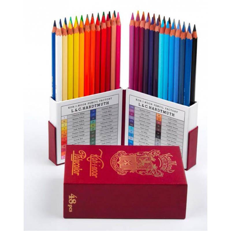 Олівці художні POLYCOLOR RETRO, набір 48 кол., арт. 3826048020tk, KOH-I-NOOR