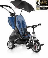 Триколісний велосипед PUKY Cat S6  Синий + silver 2412 + зонт