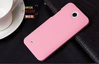 Чехол накладка бампер для HTC Desire 300 розовый