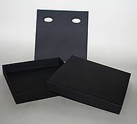 Коробка подарочная со вставкой под колье 200х200х30мм