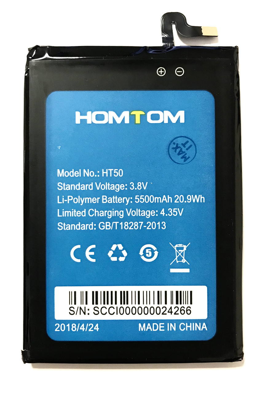 Homtom HT50 HT50 Pro Аккумулятор Батарея