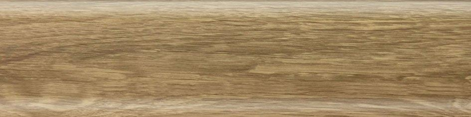 Плинтус Salag Дуб бурбон натуральный 56мм 5069 с кабель - каналом