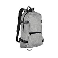 Рюкзак из полиэстера 600d SOL'S WALL STREET Рюкзак для путешествий Женский рюкзак Мужской рюкзак Городской рюкзак Рюкзак туриста Рюкзаки без логотипа