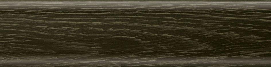 Плинтус Salag Дуб горелый 62мм 6286