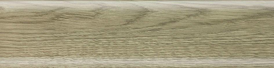 Плинтус Salag Дуб полярный 62мм 62В3