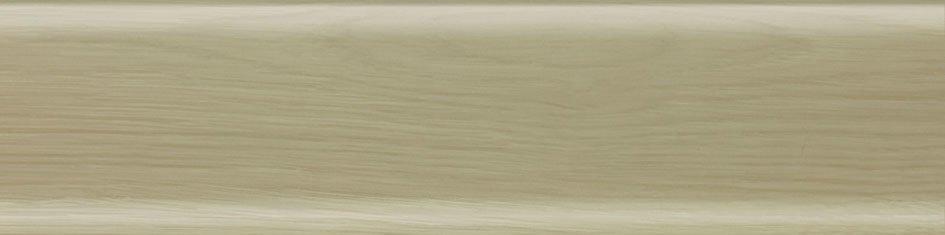Плинтус Salag Дуб полярный 80мм 8073