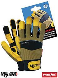 Защитные перчатки из козьей кожи RMC-HUMPER BRBY