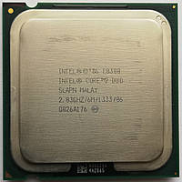Процессор Intel Core 2 Duo E8300 SLAPN 2.83 GHz 6 MB Cache 1333 MHz FSB Socket 775 Б/У