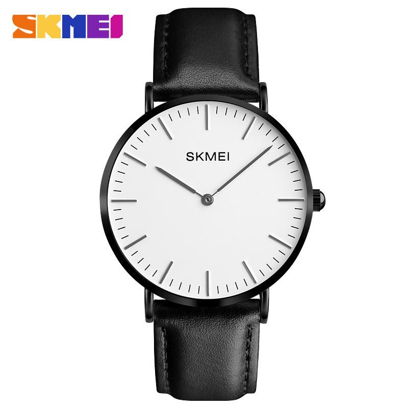 Skmei 1181 черные мужские классические часы