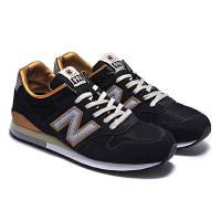 Женские кроссовки New Balance 996 черные, фото 1