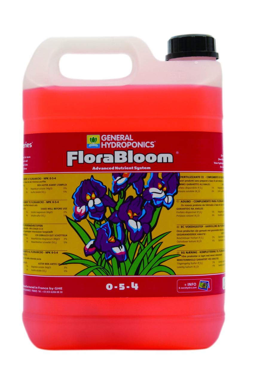 Питательный раствор для гидропоники FloraBloom 10l