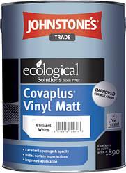 Johnstone's Covaplus Vinyl Matt 2,5 л виниловая белая краска