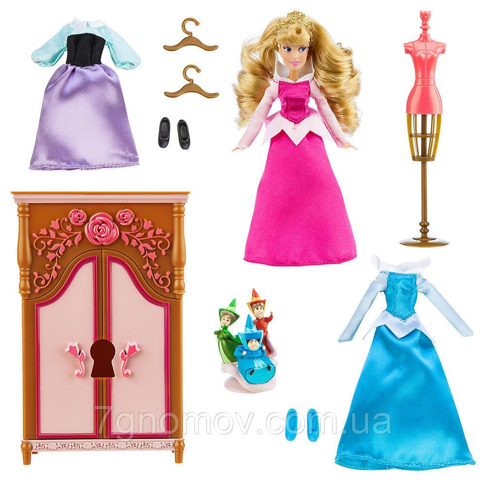 Набор Шкаф Спящей красавицы Дисней (Aurora Wardrobe Doll Play Set by Disney)