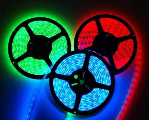 Светодиодная лента LED 5050 w/r/g/b