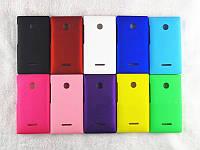 Чехол накладка бампер для Microsoft Lumia 532 (10 цветов)