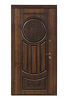 """Входная дверь """"МИНИСТЕРСТВО ДВЕРЕЙ"""" ПВ-61 V Дуб темный Vinorit (Патина), фото 1"""