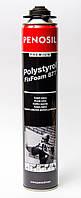 Клей-пена профессиональная PENOSIL Premium Polystyrol FixFoam 877 (черная) 750мл