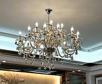 Люстра в классическом стиле на 15 рожков + ПОДАРОК (LED Лампочки)  Аja lst001