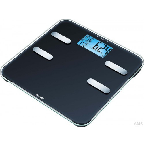 Диагностические весы c большим дисплеем и синей подсветкой Beurer BF 185
