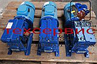 Мотор-редукторы червячные МЧ-80-22,4 об/мин с электродвигателем 0,75 кВт
