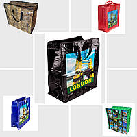 Хозяйственная сумка город  №4 47 x 55 x 28 см (уп-12 шт), фото 1