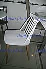 Пластиковый стул  8311A  DAY (День) белый от Kashtan, ножки металл, фото 3