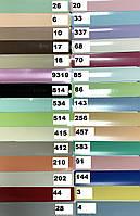 Жалюзи для окон горизонтальные алюминиевые с шириной ламели 25 мм, цветные.