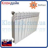 Алюминиевый радиатор отопления DaVinci 500/100