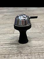 Силиконовая чаша черная и kaloud (калауд), набор для кальяна