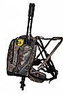 Рюкзак Forest Camo. Рюкзак для полювання. Рюкзак стілець, фото 2
