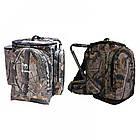 Рюкзак Forest Camo. Рюкзак для полювання. Рюкзак стілець, фото 5
