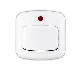 Кнопка звонка Bylectrica 1А с подсветкой белая (02-59-11)