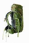 Рюкзак туристический 50 + 10 л Tramp Floki зеленый. Рюкзак туристический 60л., фото 6