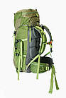 Рюкзак туристический 50 + 10 л Tramp Floki зеленый. Рюкзак туристический 60л., фото 7