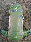Рюкзак туристический 50 + 10 л Tramp Floki зеленый. Рюкзак туристический 60л., фото 8