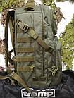 Рюкзак тактический 50л Commander Tramp. Рюкзак для охоты. Тактический рюкзак 50л., фото 4
