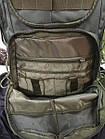 Рюкзак тактический 50л Commander Tramp. Рюкзак для охоты. Тактический рюкзак 50л., фото 6
