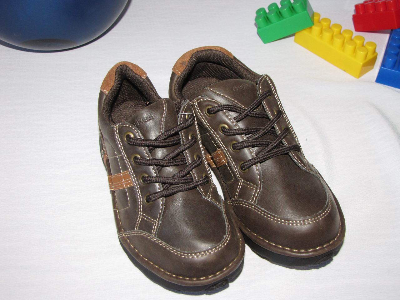 Туфли кожаные OshKosh оригинал размер 27 коричневые 08003/02