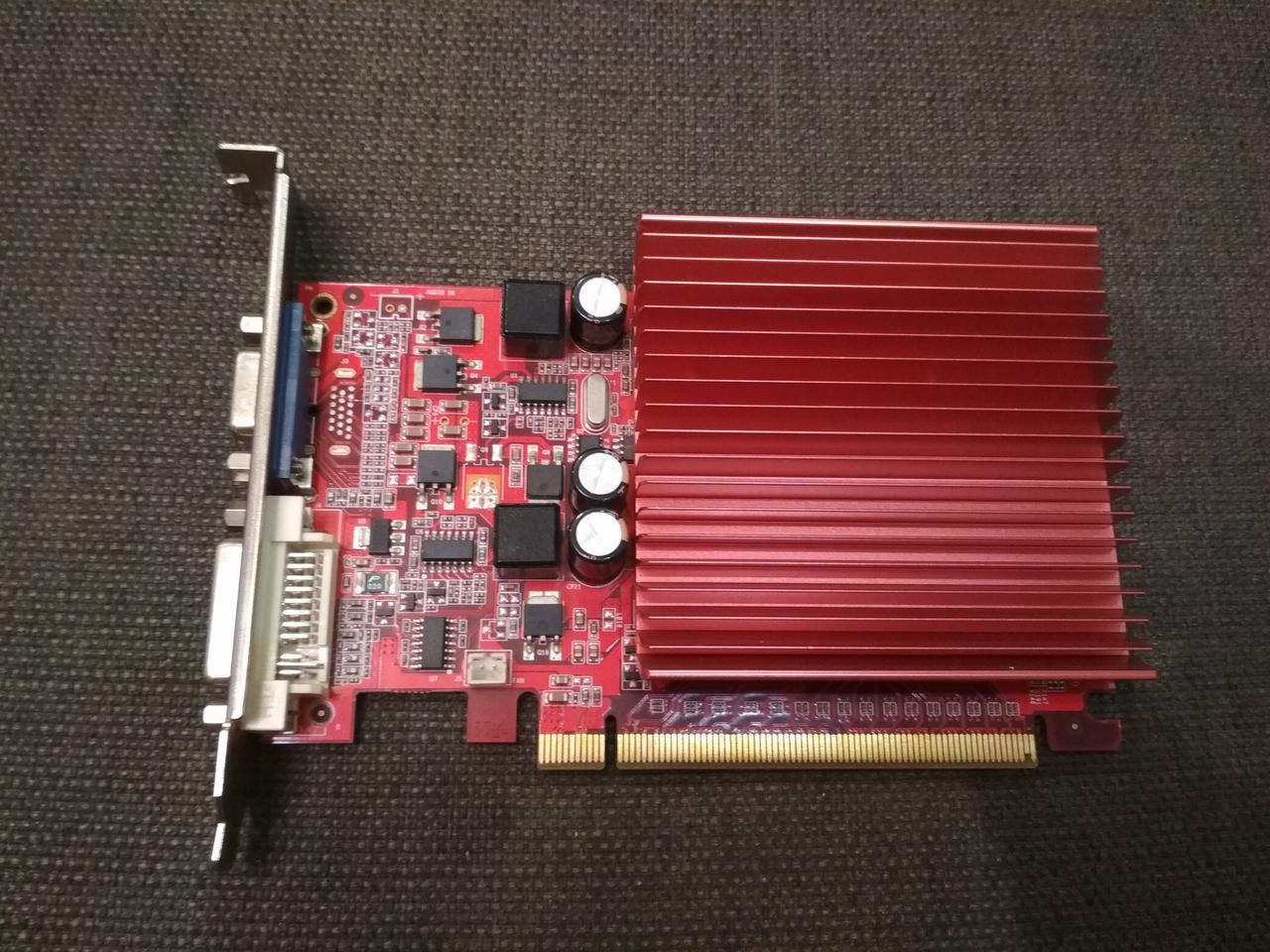 ВИДЕОКАРТА PCI-E Nvidia GeFORCE 9500 GT на 1GB и ПОЛНОЙ БИТНОСТЬЮ - 128 BIT с ГАРАНТИЕЙ ( видеоадаптер 9500GT)