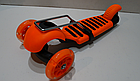 Самокат c сиденьем Scooter mini 3в1 Божья Коровка, оранжевый ***, фото 3