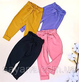 Детские штаны для девочки в расцветках. БЛ-24-0419