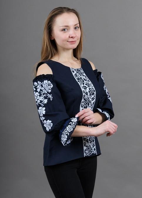 """Блуза - вышиванка """"Цветочная аура"""""""