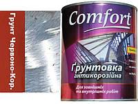 Грунт антикорозійний Червоно-Коричневий ГФ-021 Для  металу Комфорт 2,8 кг.
