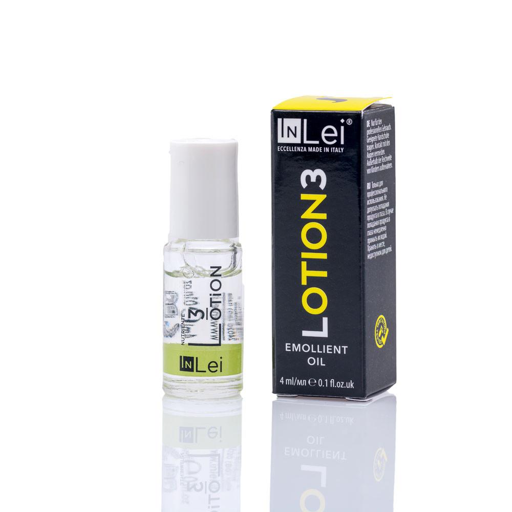 """Состав для завивки ресниц In Lei """"Lotion3"""", 4 ml / cмягчающее масло  №3 ин лей для завивки ресниц"""